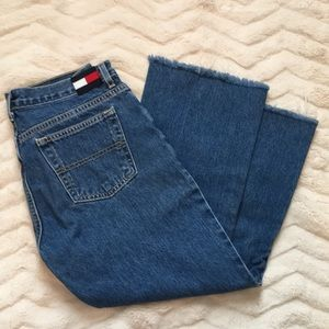 Tommy Hilfiger flared/cropped jeans